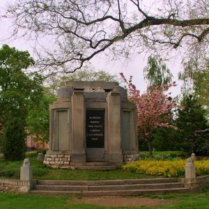 pomník dolní dunajovice